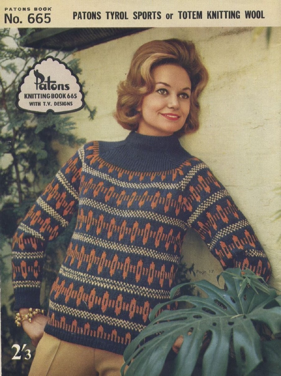 The Vintage Pattern Files: 1960s Knitting - Patons ...