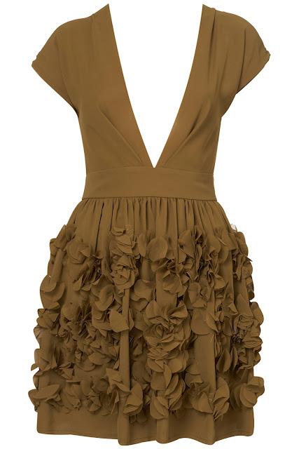 Topshop vestido escote