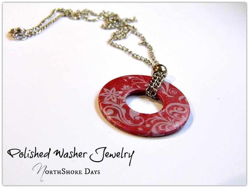 Polished Washer Jewelry