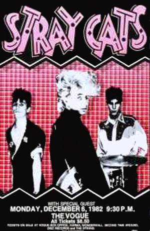Promotional Poster The Stray Cats