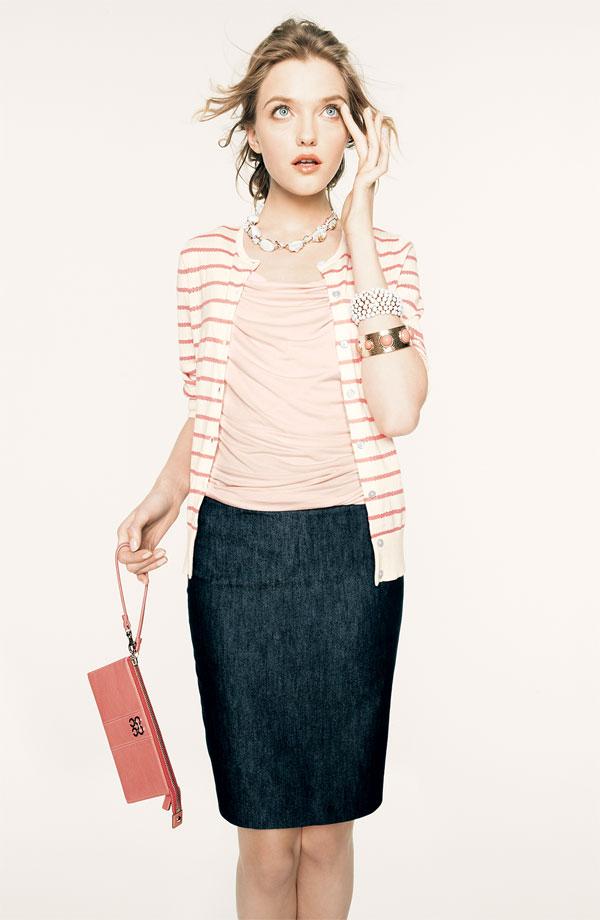 U00dcber Chic for Cheap Inspired Nordstrom {soft pink + stripes} {+pinterest}