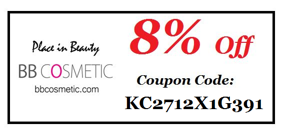 BB commetic discount code
