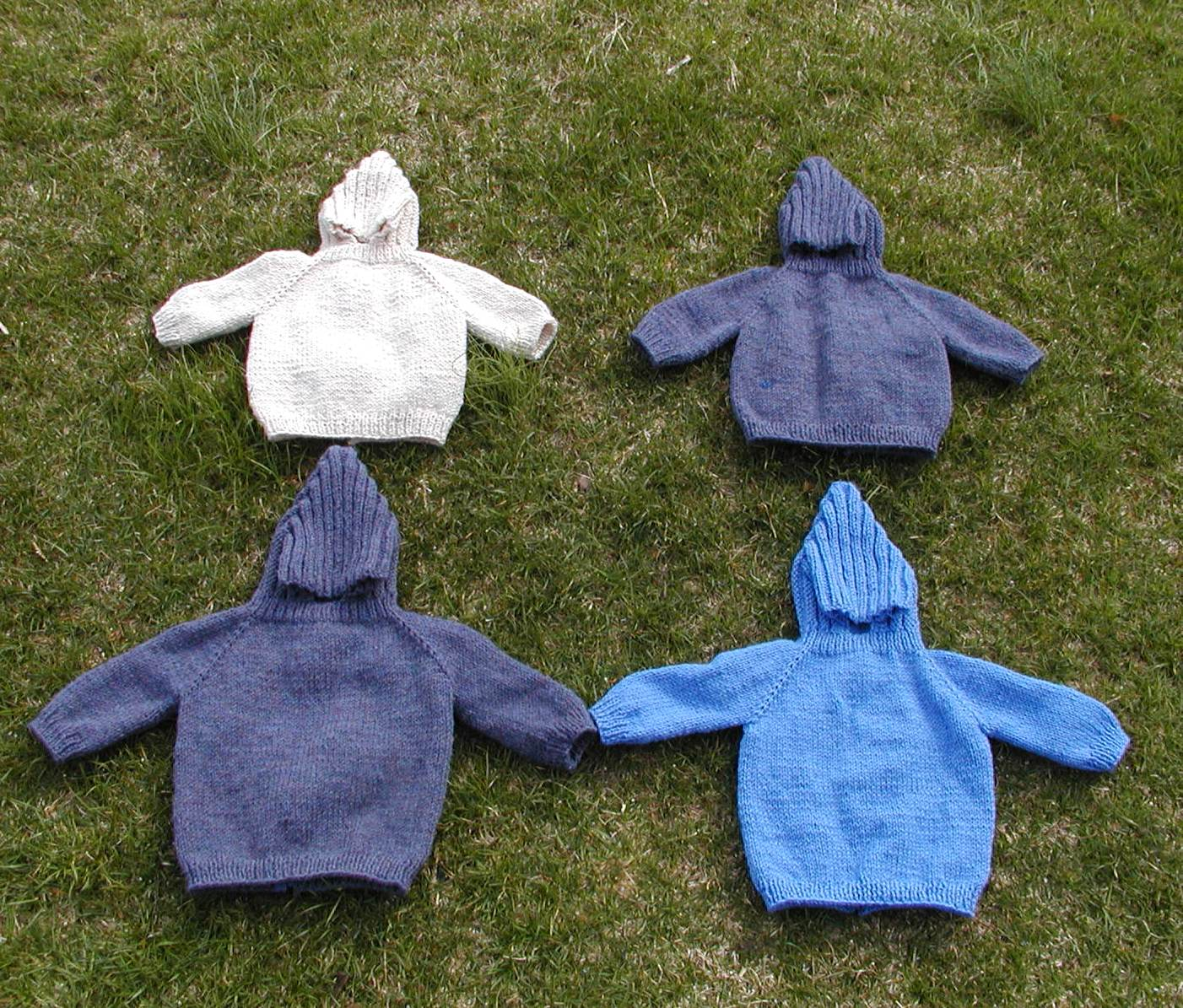 Zippered Hoodie Knitting Pattern : Sarah Montie Handknits: My favorite baby sweater