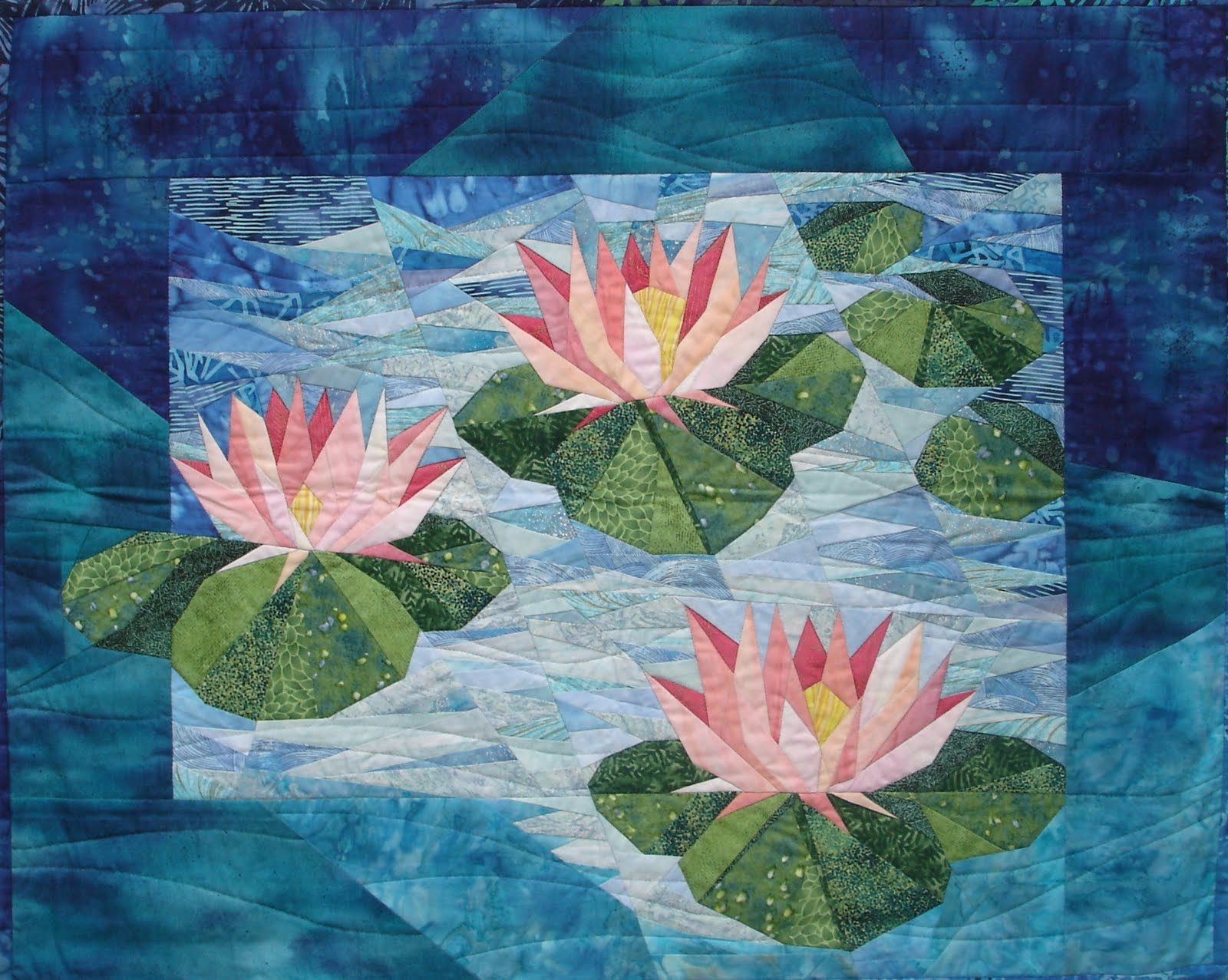 Quilt Inspiration Pieces Of Paradise The Floral Quilts Of Eileen