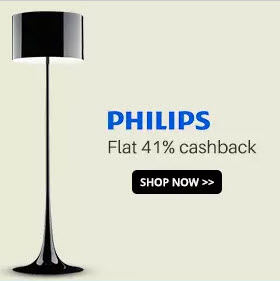 Philips Lightning Extra 41% Cashback