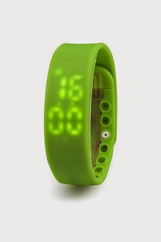 Đồng hồ thông minh dây Silicon ALAMODE PARIS FW003green (Xanh lá