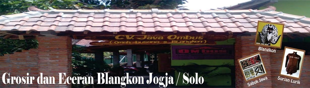 Grosir  dan Eceran Blangkon Jogja / Solo