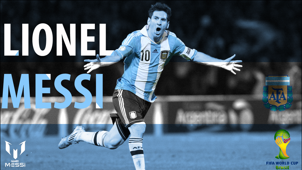 Messi argentina 2014 world cup wallpaper