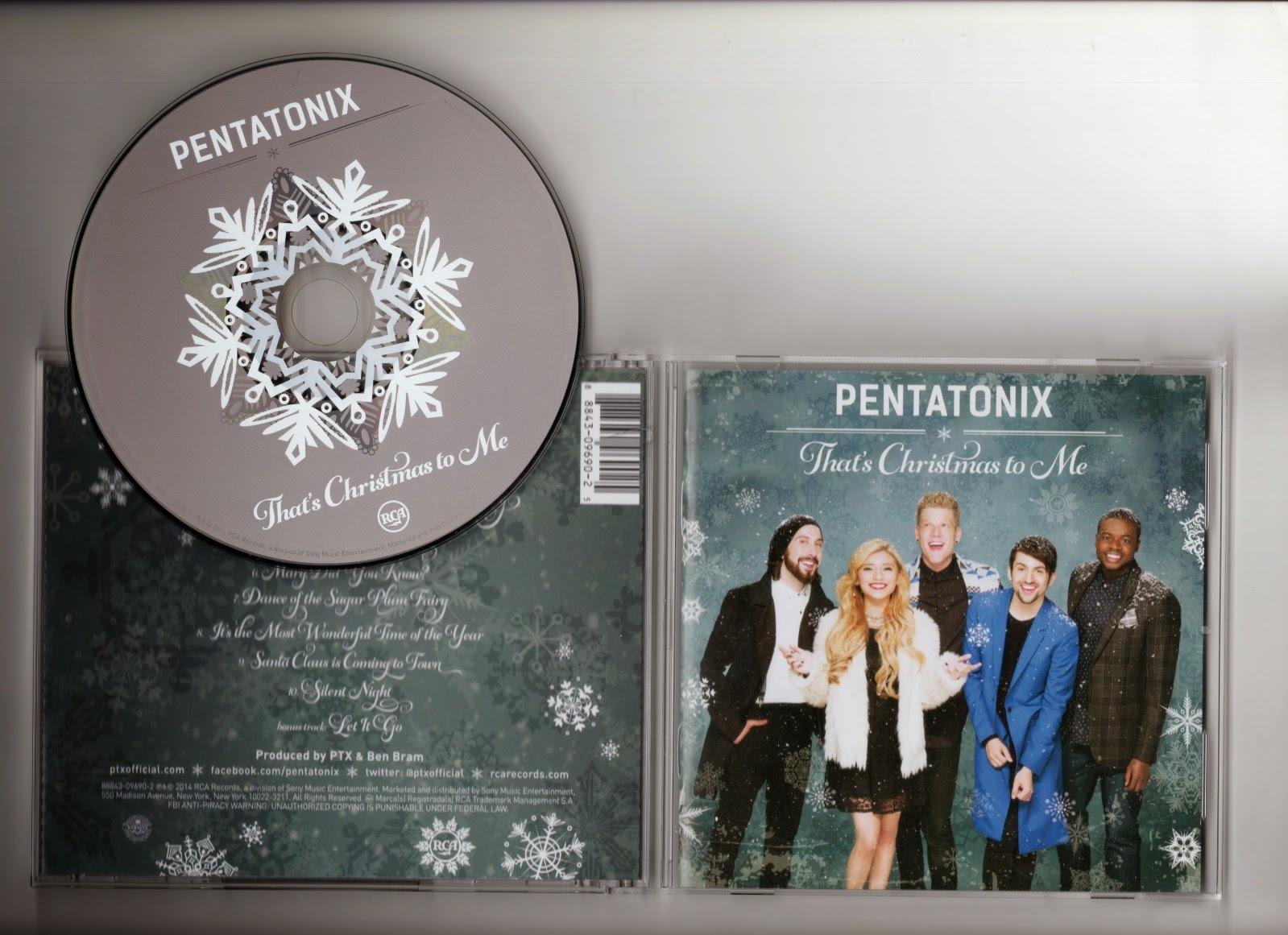 Pentatonix - That's Christmas To Me | My Festive Fizzy Pop