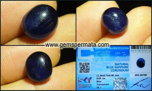 Batu Permata Sapphire Biru Afrika, Toko Batu Permata