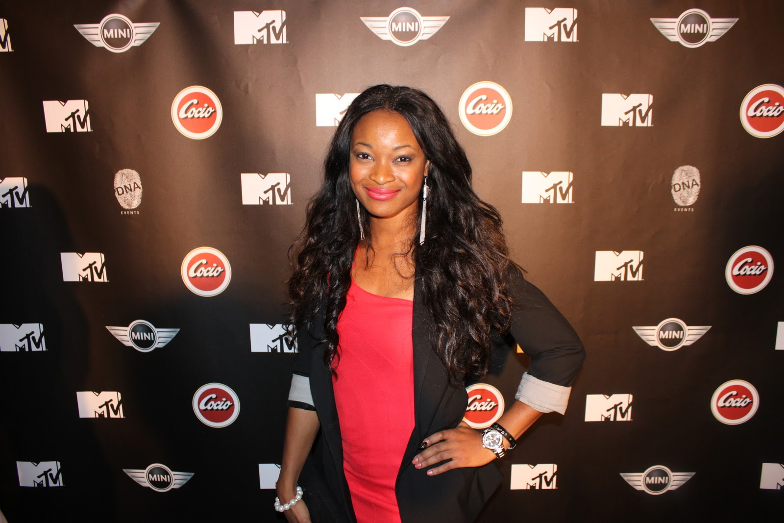 Chioma - Beauty Blogger: MTV Norway 6 year anniversary