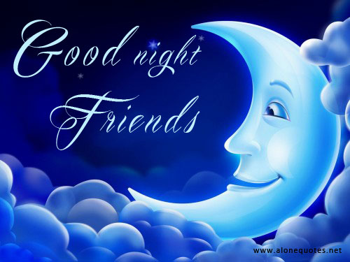 Goodnight Message Wallpaper For Friend