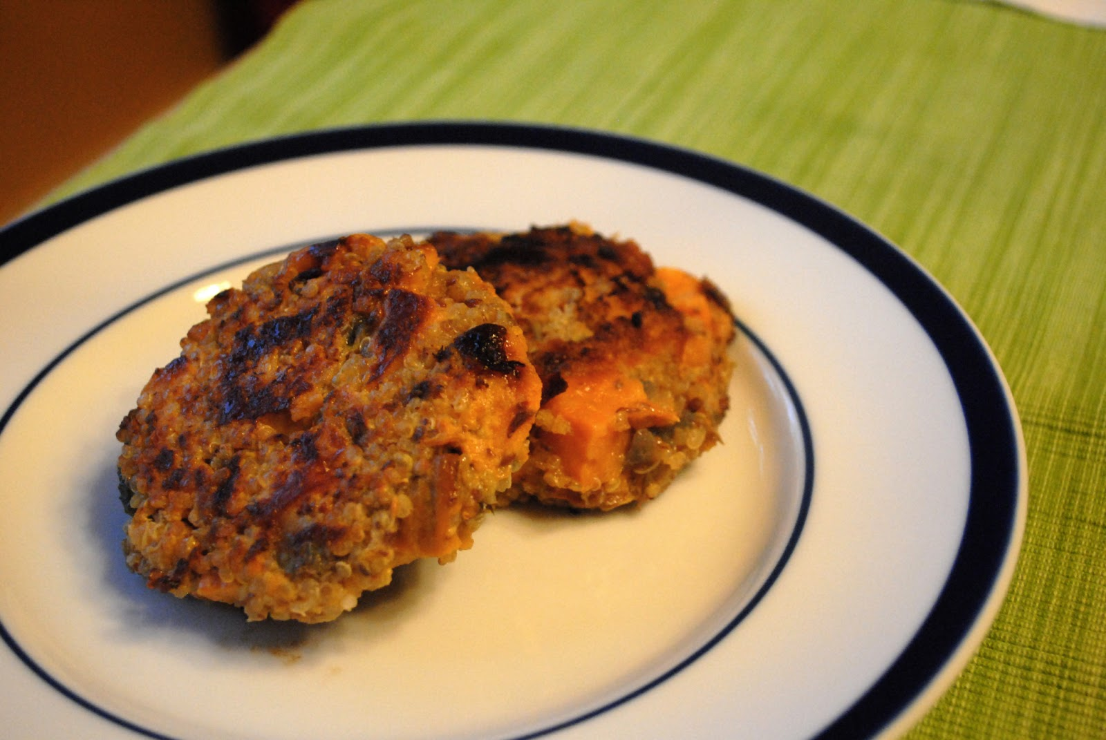 at home with ann: Baby Breakfast Cookies and Sweet Potato Quinoa Cakes