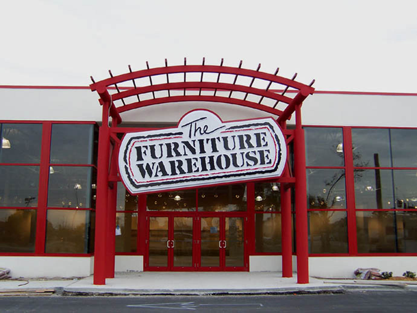 Archiplex the furniture warehouse stores for Furniture warehouse