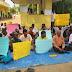 கல்முனை மாநகர சபை தொழிலாளர்கள் கவனயீர்ப்பு போராட்டம்