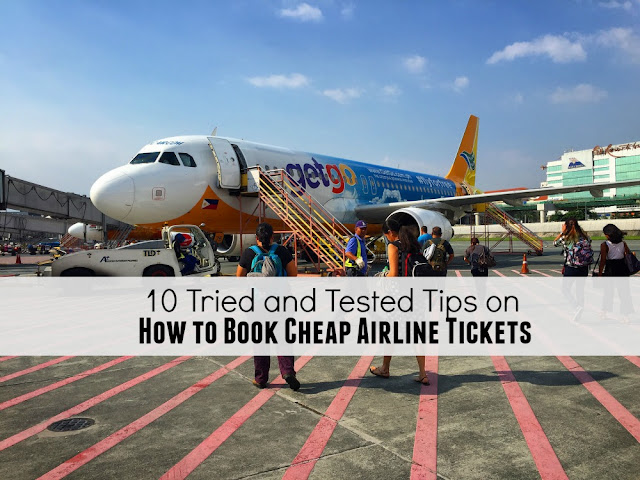 10 Tried and Tested Tips on How to Book Cheap Airline Tickets