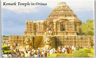 India Travel - Temples in Orissa