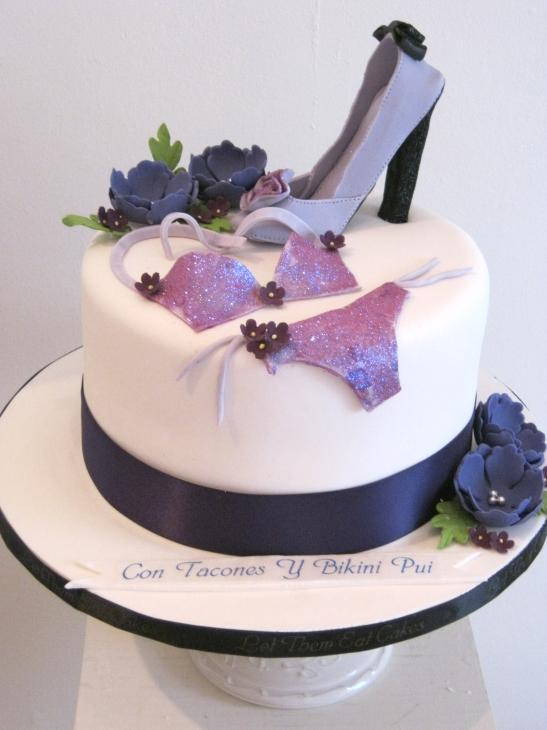 Images Of Purple Birthday Cake : Let Them Eat Cakes: Purple Birthday Cake