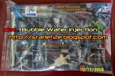 Ready Stock Bubble Water Injection Rp.350rb.