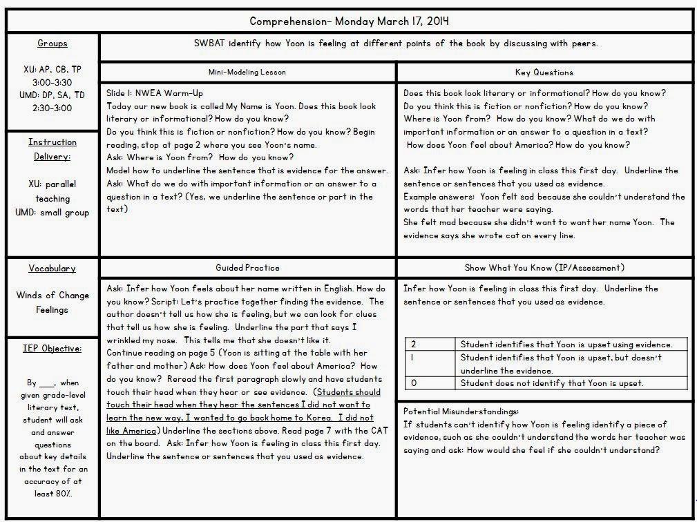 Phonics Planning Template | Calendar Template 2016