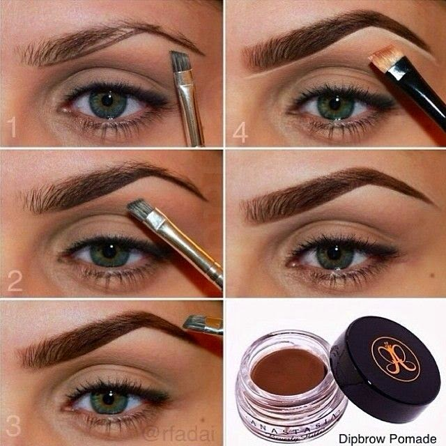 Eyebrow Makeup Tutorials Step By Step 2018 Images Pictures