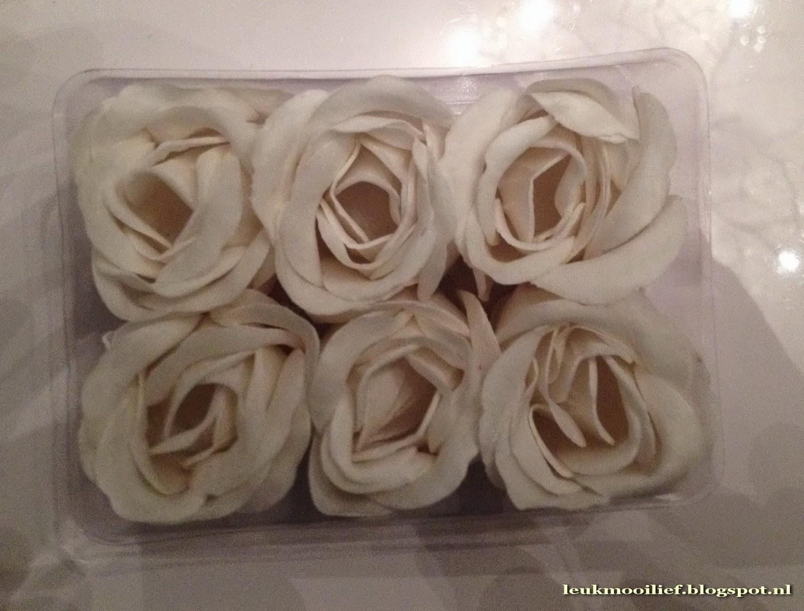 Badkamer Accessoires Action : Leuk mooi lief: zeep roosjes