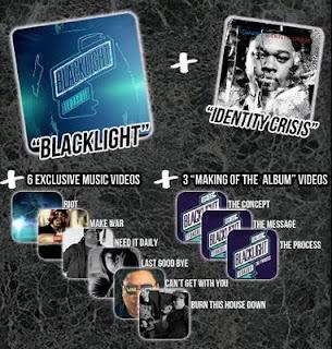 Get Tedashii's Blacklight and Identity Crisis + 9 videos