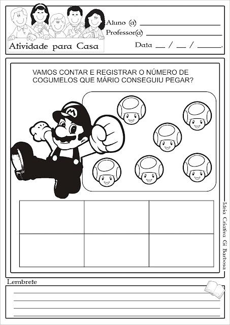 Atividade Temática Mario Super Mário