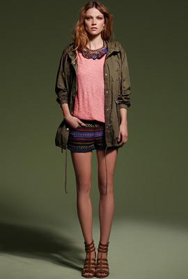 ropa mujer primavera 2013 SuiteBlanco shorts