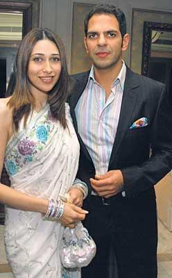Karisma Kapoor and Sanjay Kapoor