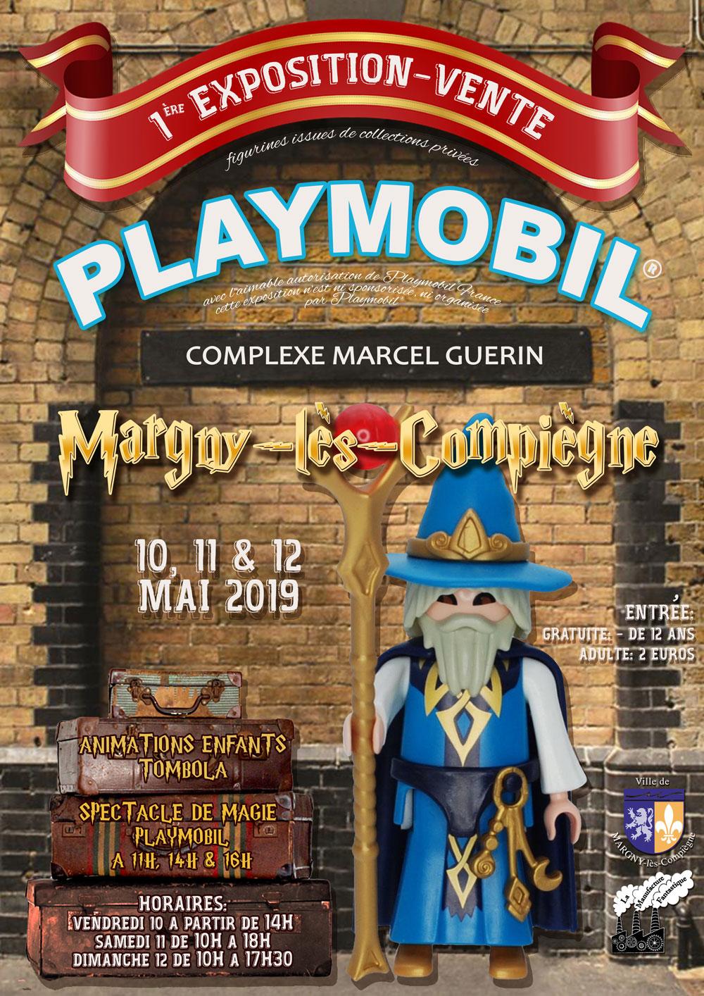 1ère Expo Vente Playmobil Margny les Compiègne