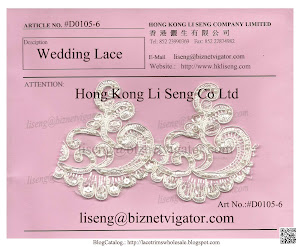 Wedding Lace Trims Art No.:#D0105-6
