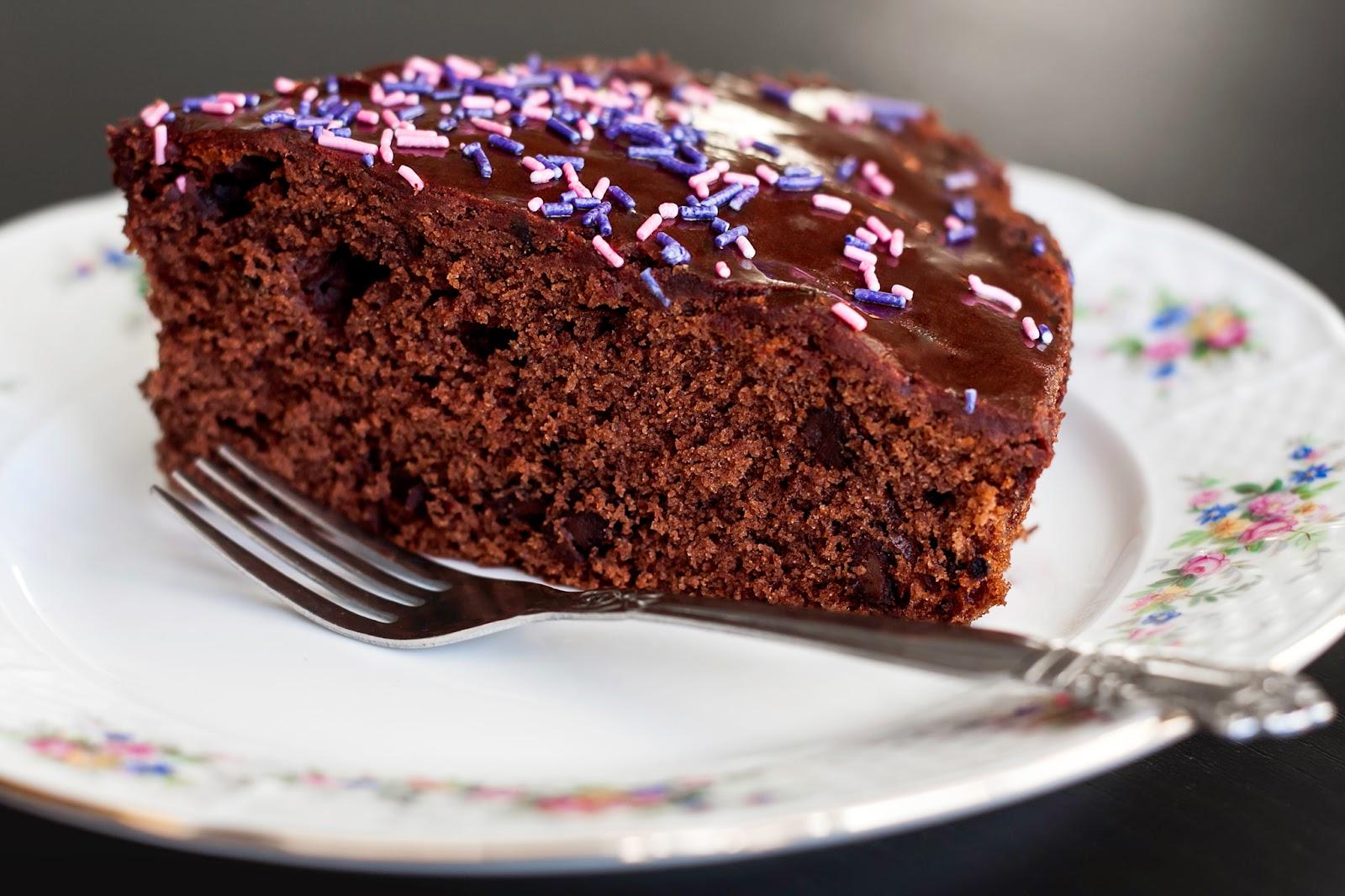 chokoladekage med æg