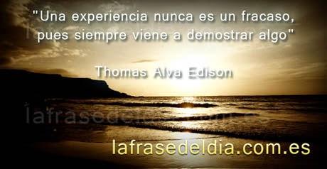 Frases Thomas Alva Edison