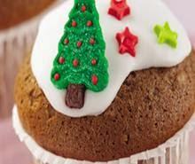 Resep Cara Membuat Kue Natal Cup Cake Enak