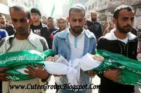 Bastard Israel killing innocent in Gaza (Palestine)