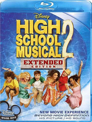 High School Musical 2 2007 [Hindi-Eng] Dual Audio 720p BRRip 900mb