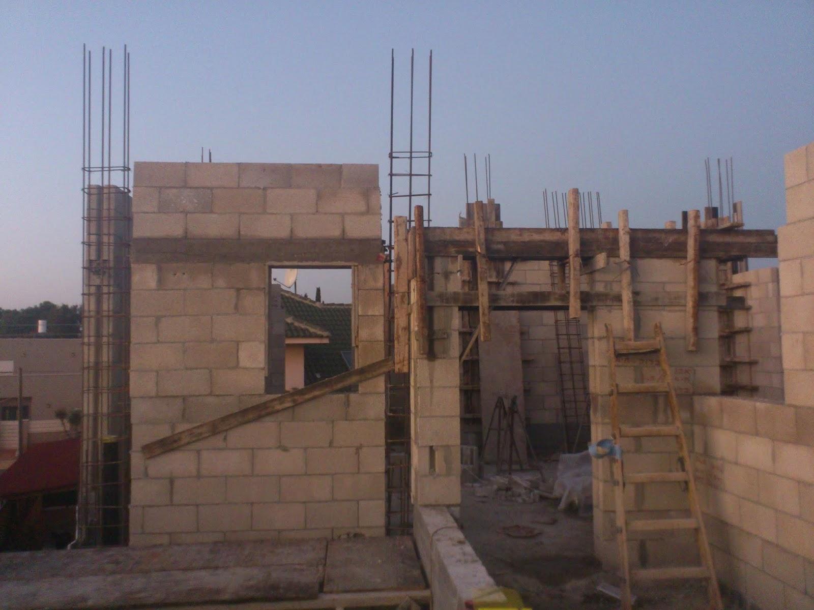 בניית שלד - בונים בית