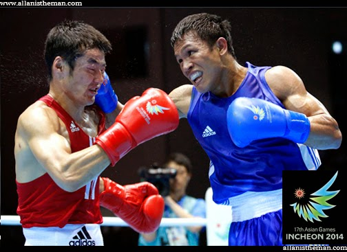 Philippines' Charly Suarez settles for boxing silver in the Asian Games 2014