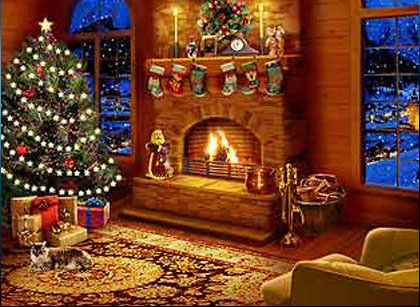 Božić i Nova godina: Božićna večer u kući