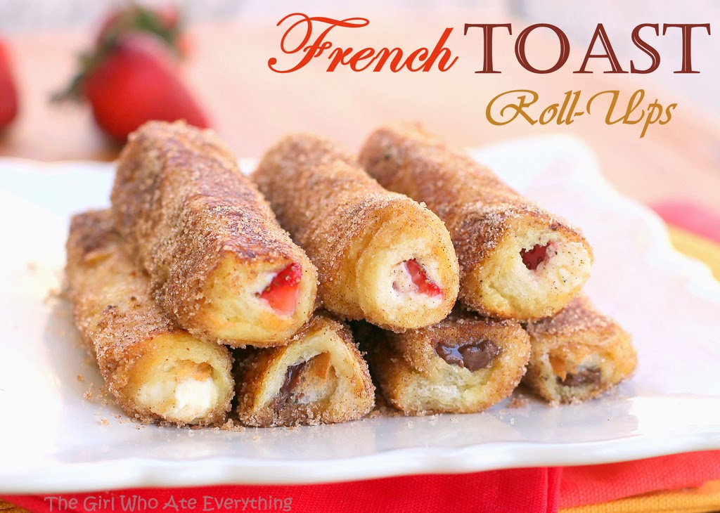 DIY French Toast Roll-Ups - The Idea King
