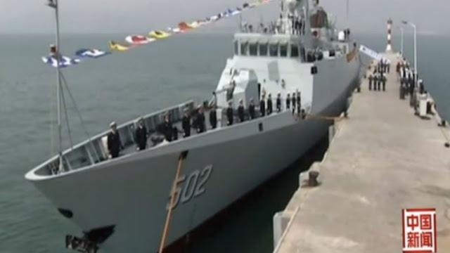 Type 056 corvette  Huangshi