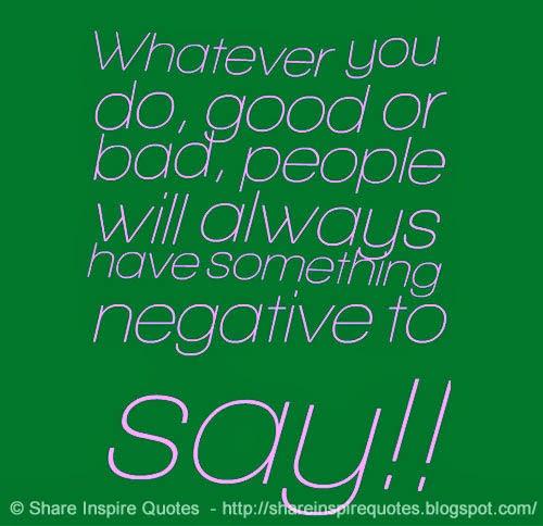 good bad people