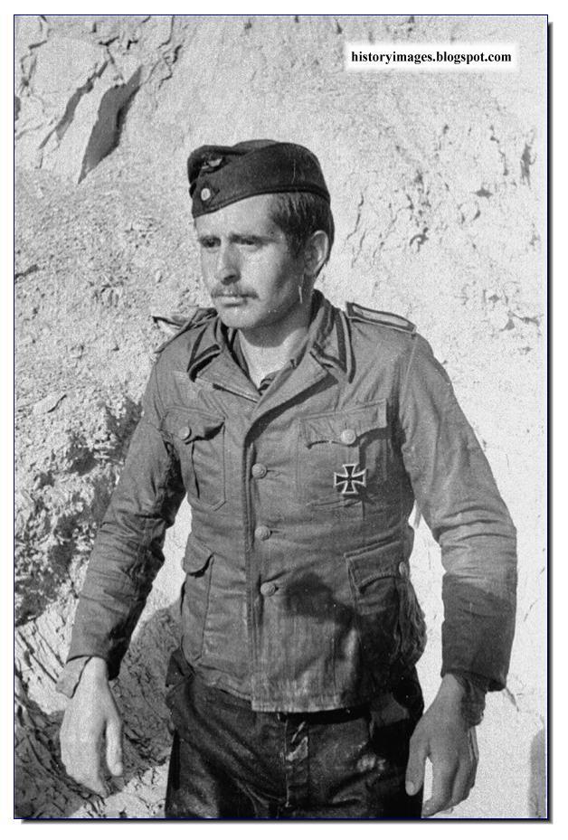 German soldier surrenders  1944 Crimea