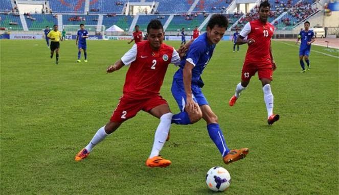 Timor Leste vs Kamboja