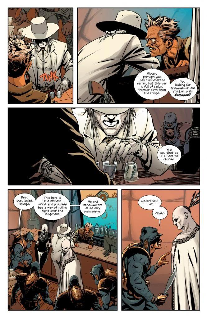 este del oeste comic norma hickman dragotta