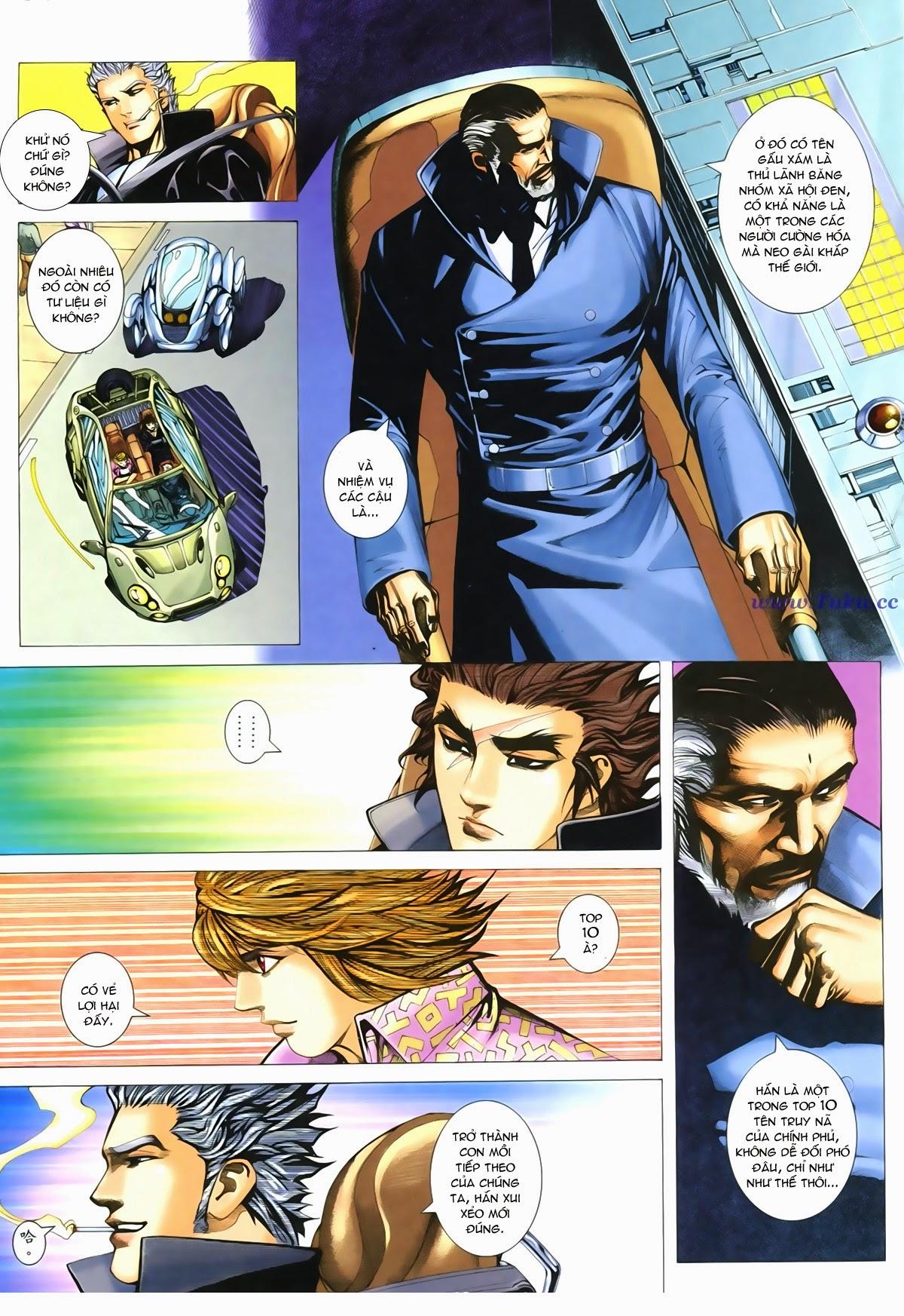 Tuyệt Địa Thiên Hành chap 8 Trang 32 - Mangak.info