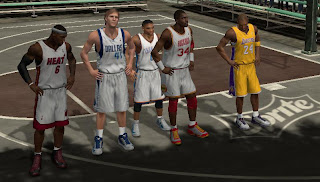 Superstars on NBA 2K13's Blacktop mode Preview