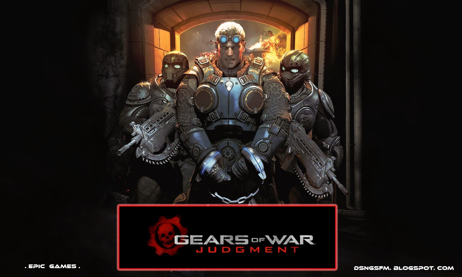 Character Design Gears Of War : Dsng s sci fi megaverse gears of war judgment game