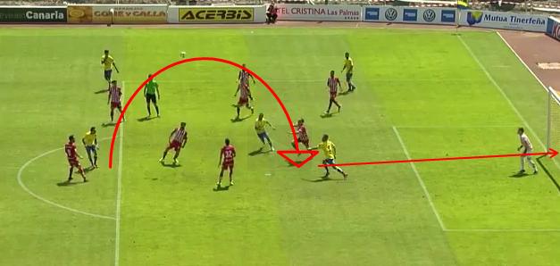 2-0 gol de Ortuño